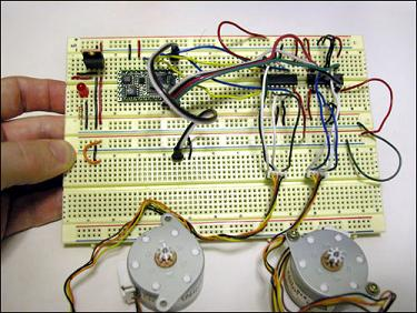 Bipolar Stepper Circuit