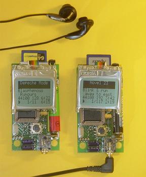DIY small and cheap MP3 player