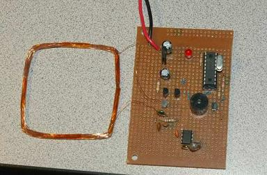 RFID reader based on PIC microcontroller - Embedds