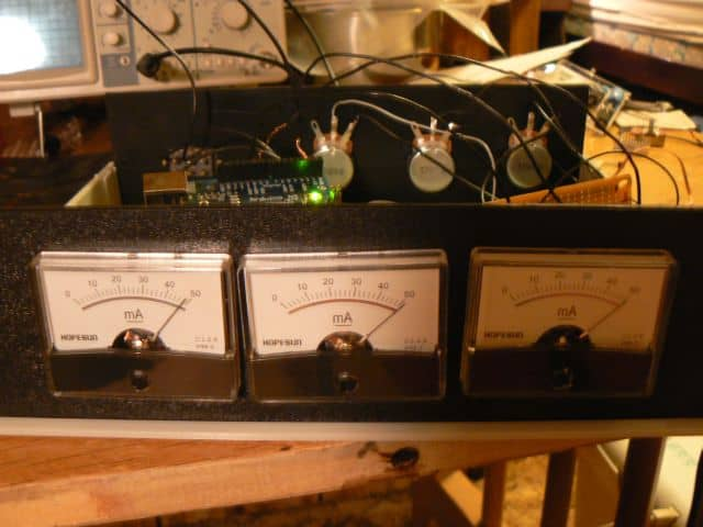 Analog meter clock embedded projects from around the web