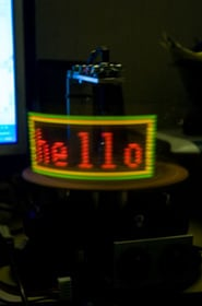 rotating-led-pov-display