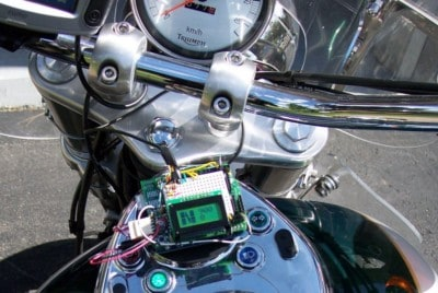 Motorcycle Control Panel