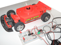 Remote Controlled Car with programmable chip