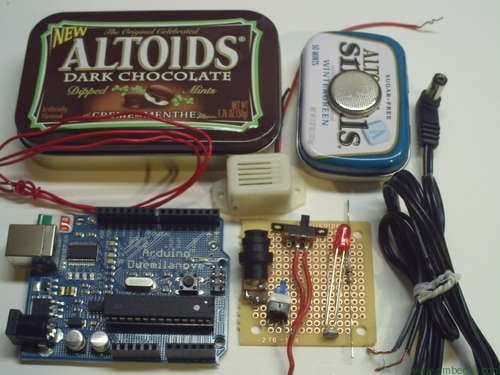 Laser Tripwire Alarm Security systems, Arduino and Tech