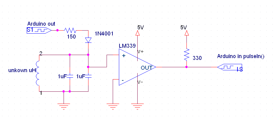 how to find the missing value of an inductor circuit