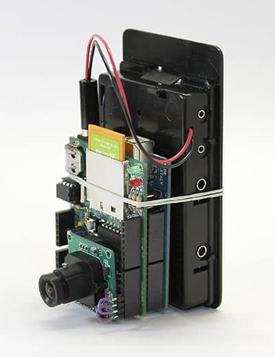 Arduino camera with eyefi capability embedded projects