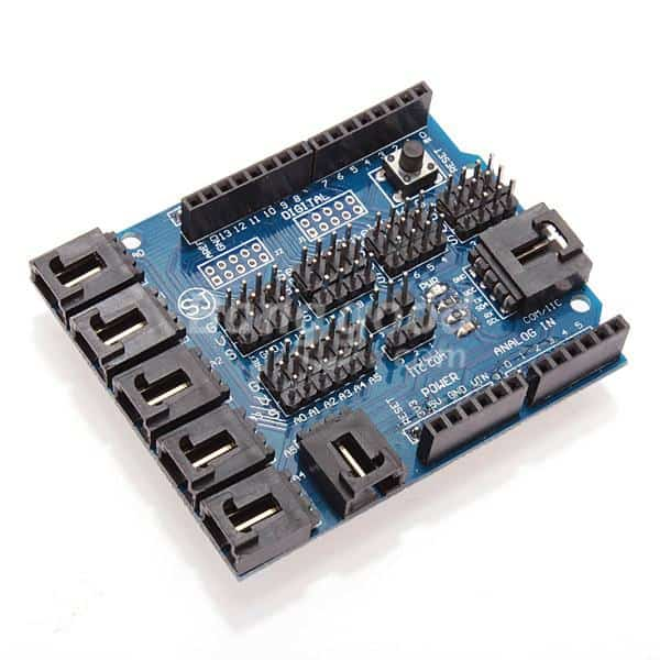 Getting most of arduino with sensor extension board